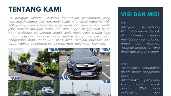 PENGIRIMAN MOBIL KE SELURUH INDONESIA